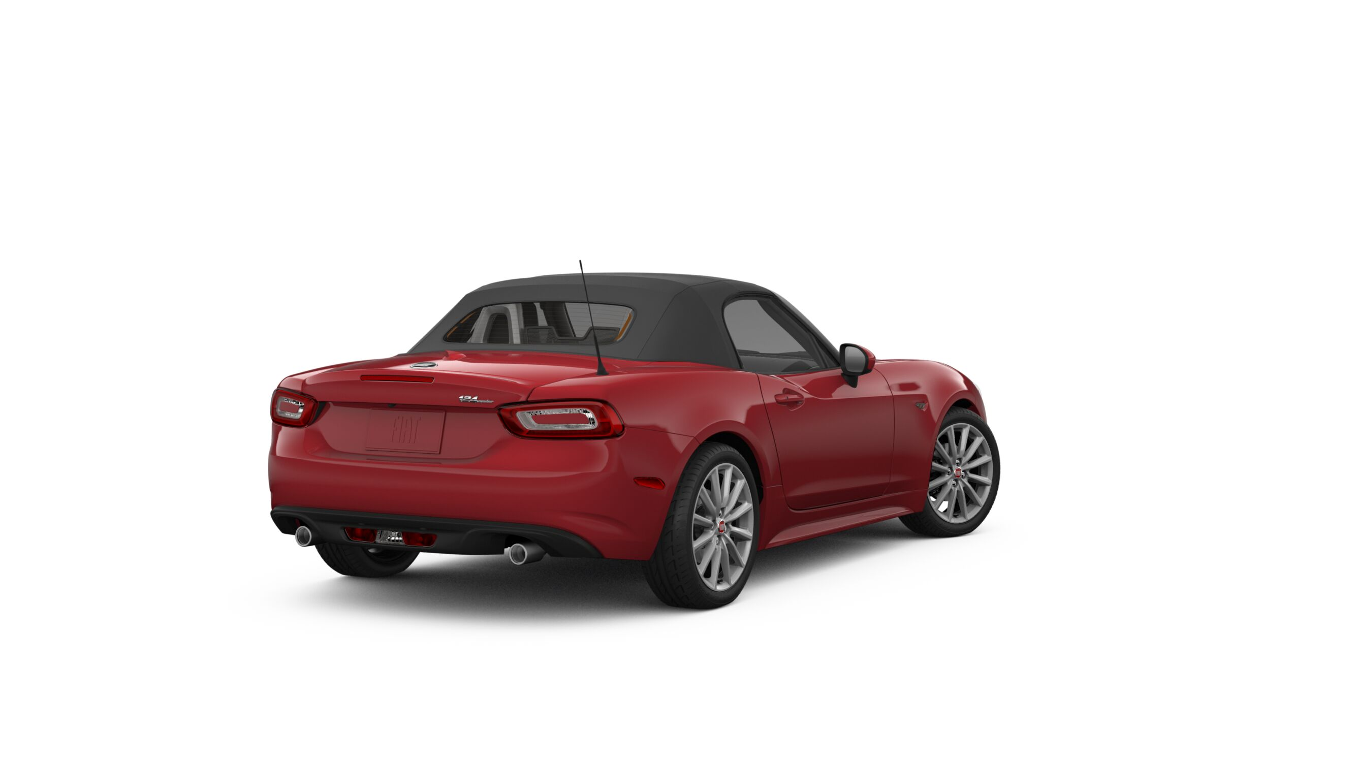 2018 FIAT 124 Spider Lusso Red Exterior Rear View