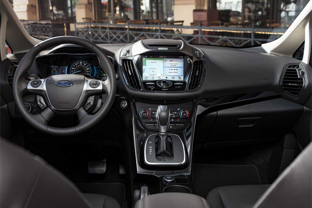 2018 Ford C Max Hybrid Front Interior Seating Jpeg