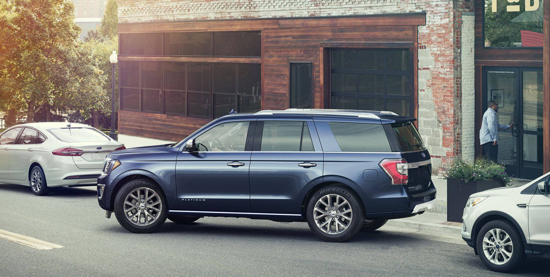 2018 Ford Expedition Blue Exterior Park Assist