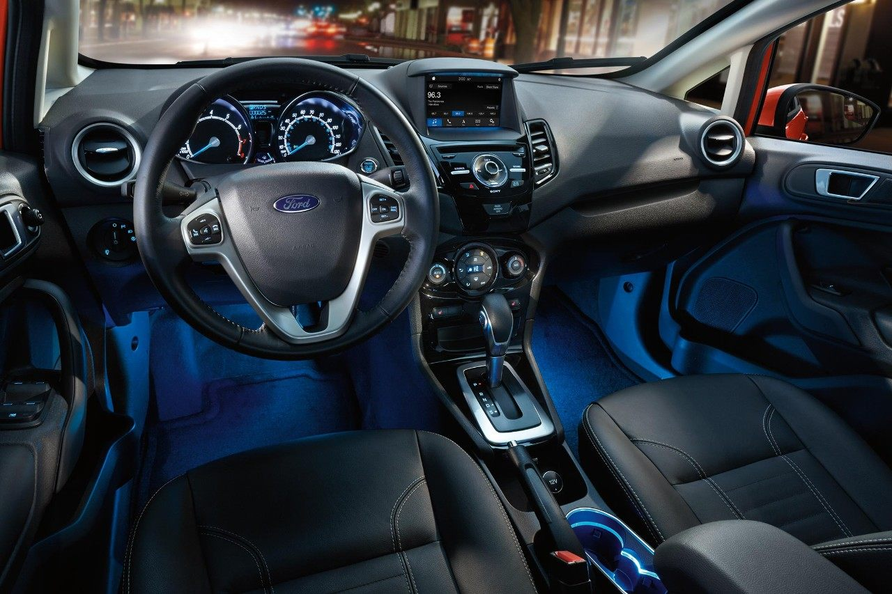 2018 Ford Fiesta Charcoal Black Leather Interior Seating.jpeg