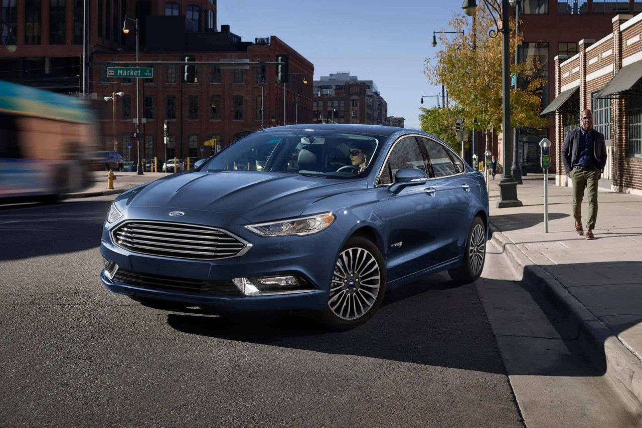 Image result for 2018 Ford Fusion Hybrid.