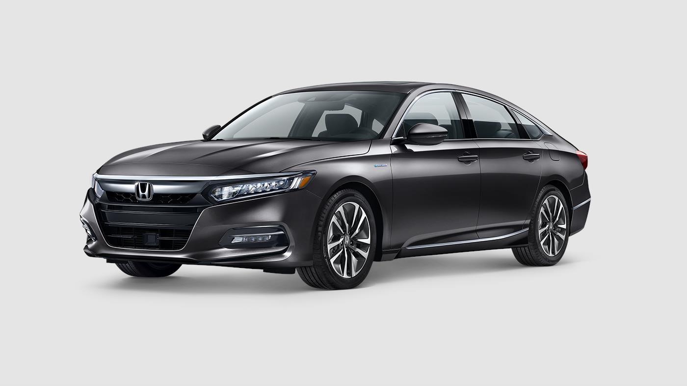 2018 Honda Accord Hybrid Ex L Modern Steel Exterior Front View