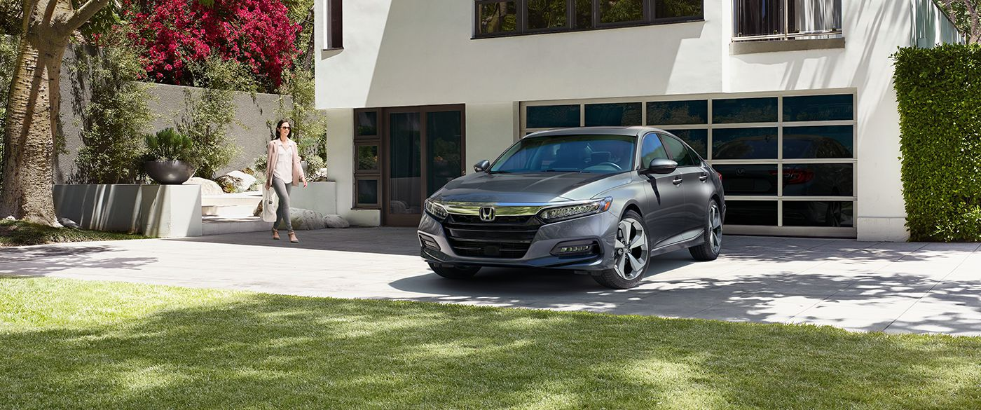 2018 Honda Accord Sedan Front Gray Exterior