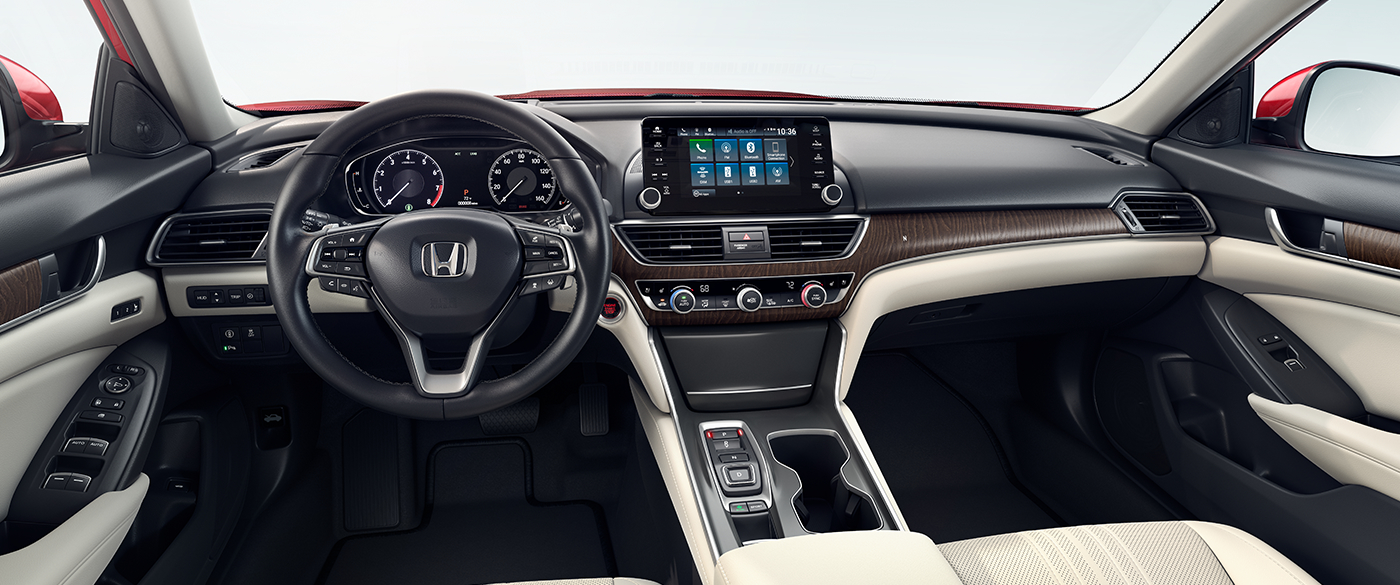 2018 Honda Accord Sedan Two Tone Interior