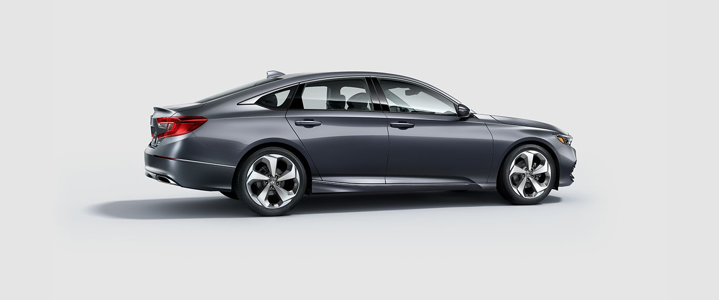 2018 Honda Accord Sport Gray Exterior Side Profile
