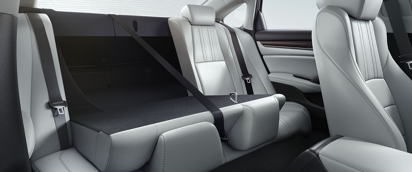 2018 Honda Accord Sport Interior Rear Seating
