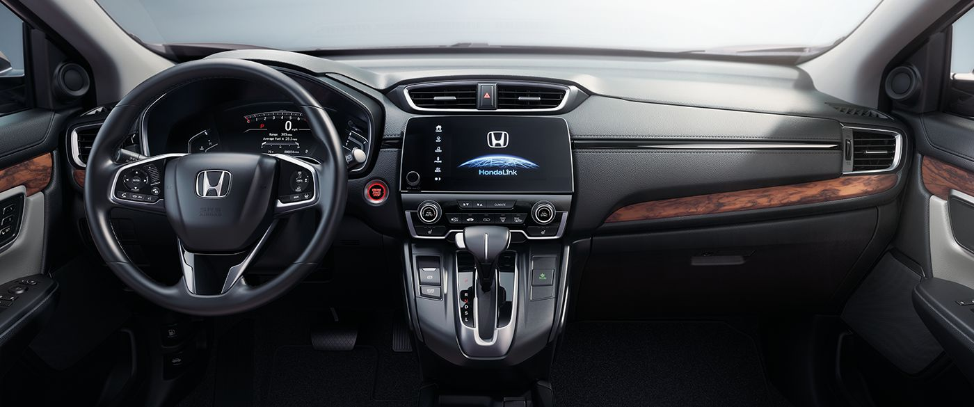 2018 Honda CR-V EX-L Display Audio Touchscreen and Dashboard Interior