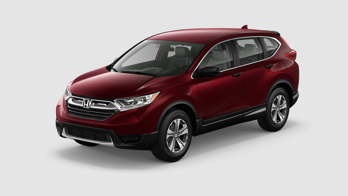 2018 Honda CR-V LX Basque Red Exterior Front View