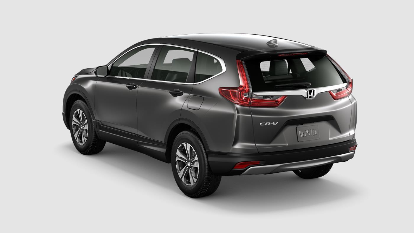 2018 Honda Cr V Lx Modern Steel Exterior Rear View