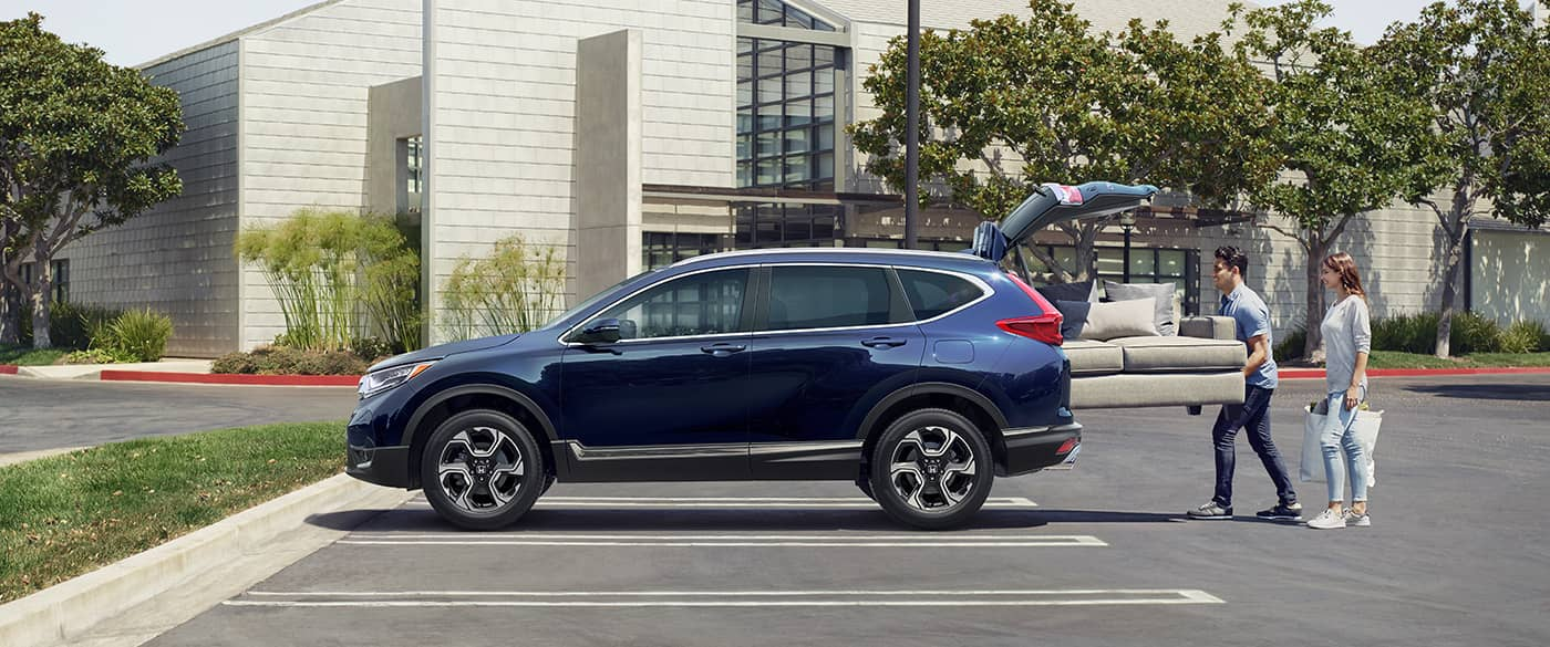 2018 Honda CR-V Blue Exterior Side Profile