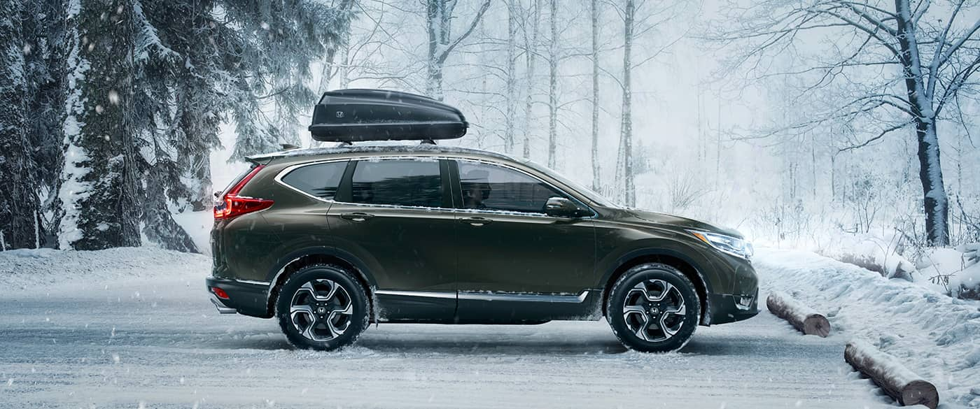 2018 Honda CR-V Green Exterior Side Profile