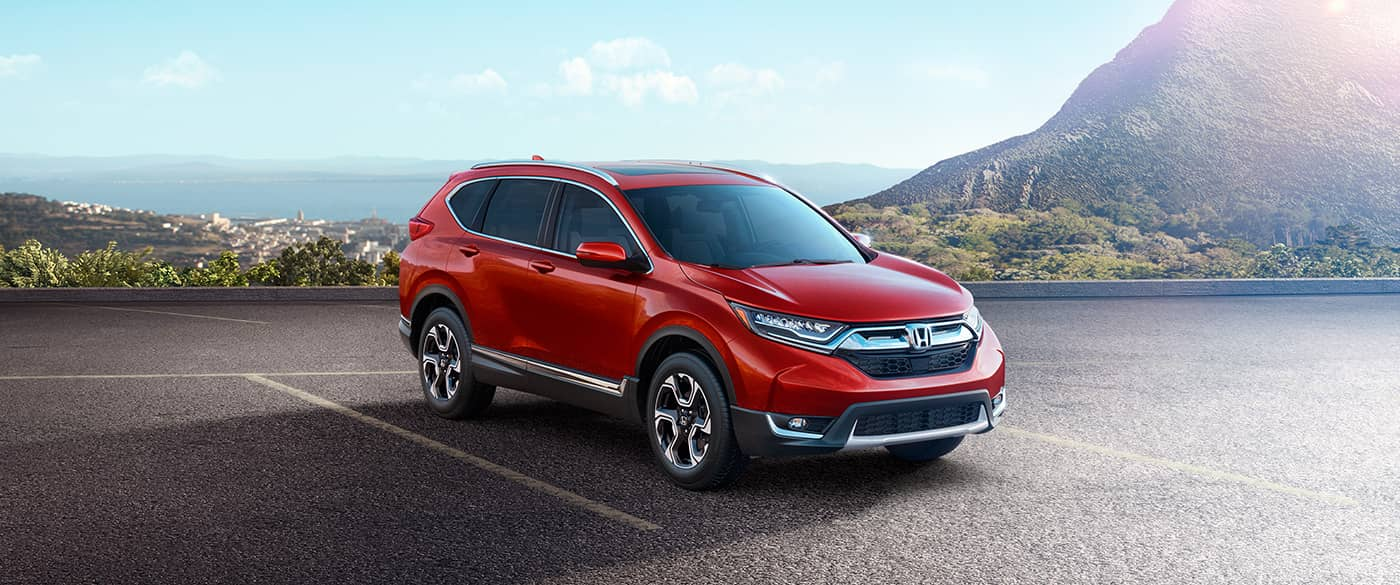 2018 Honda CR-V Red Exterior Front View