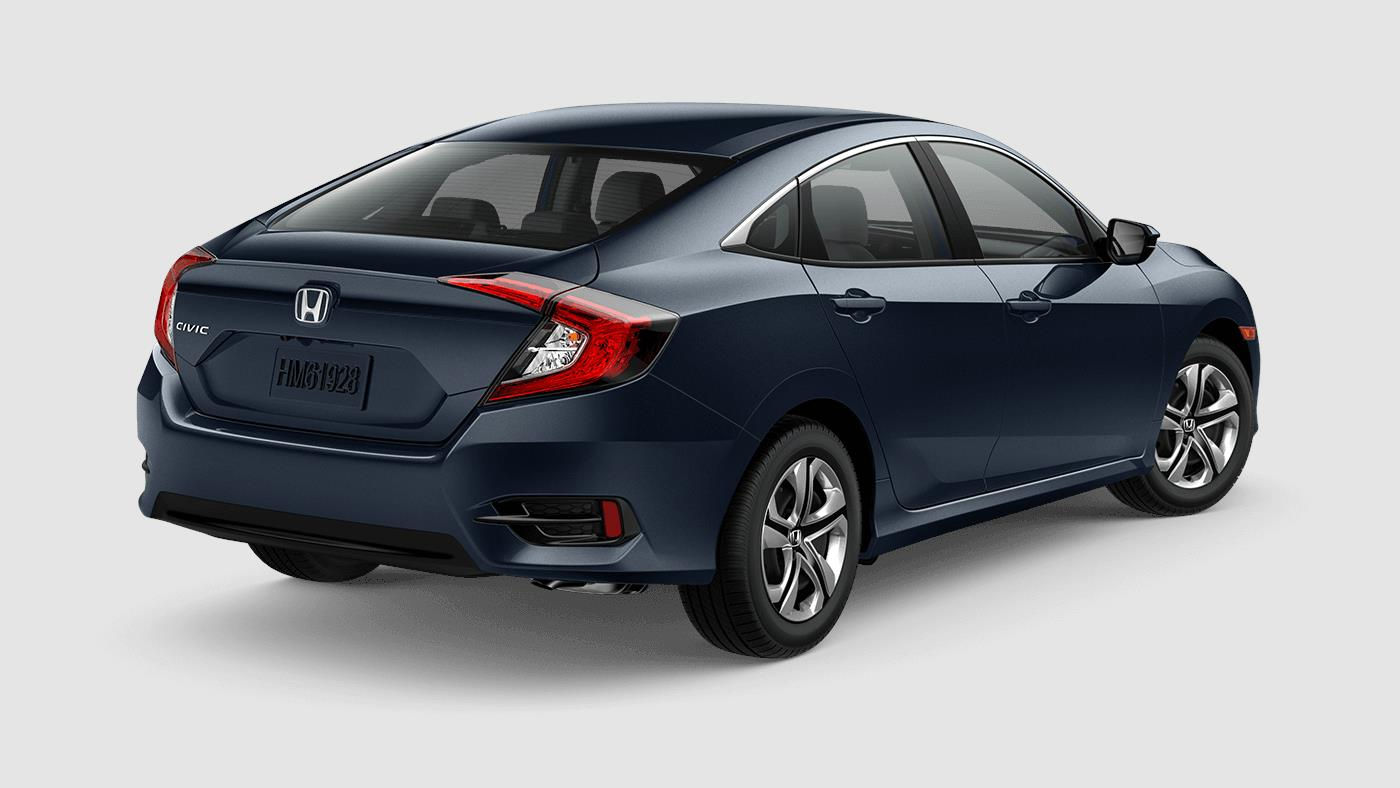 2018 Honda Civic Sedan Lx Honda World Downey Downey Ca