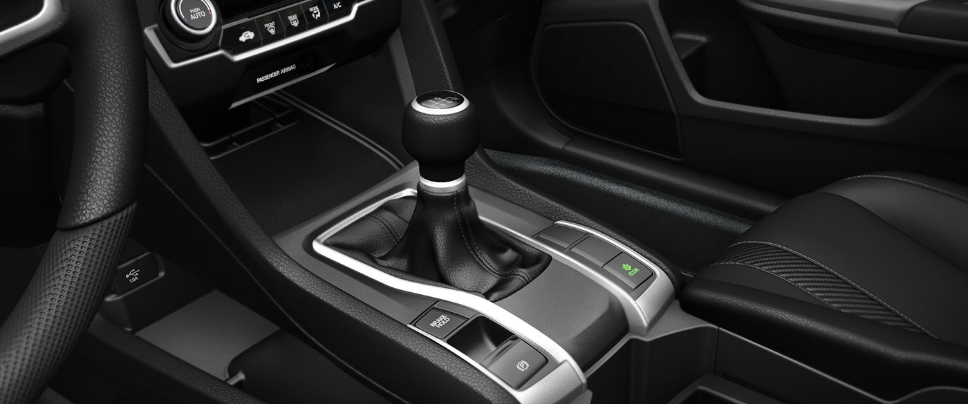 2018 Honda Civic Sedan LX Interior Shifter Detail