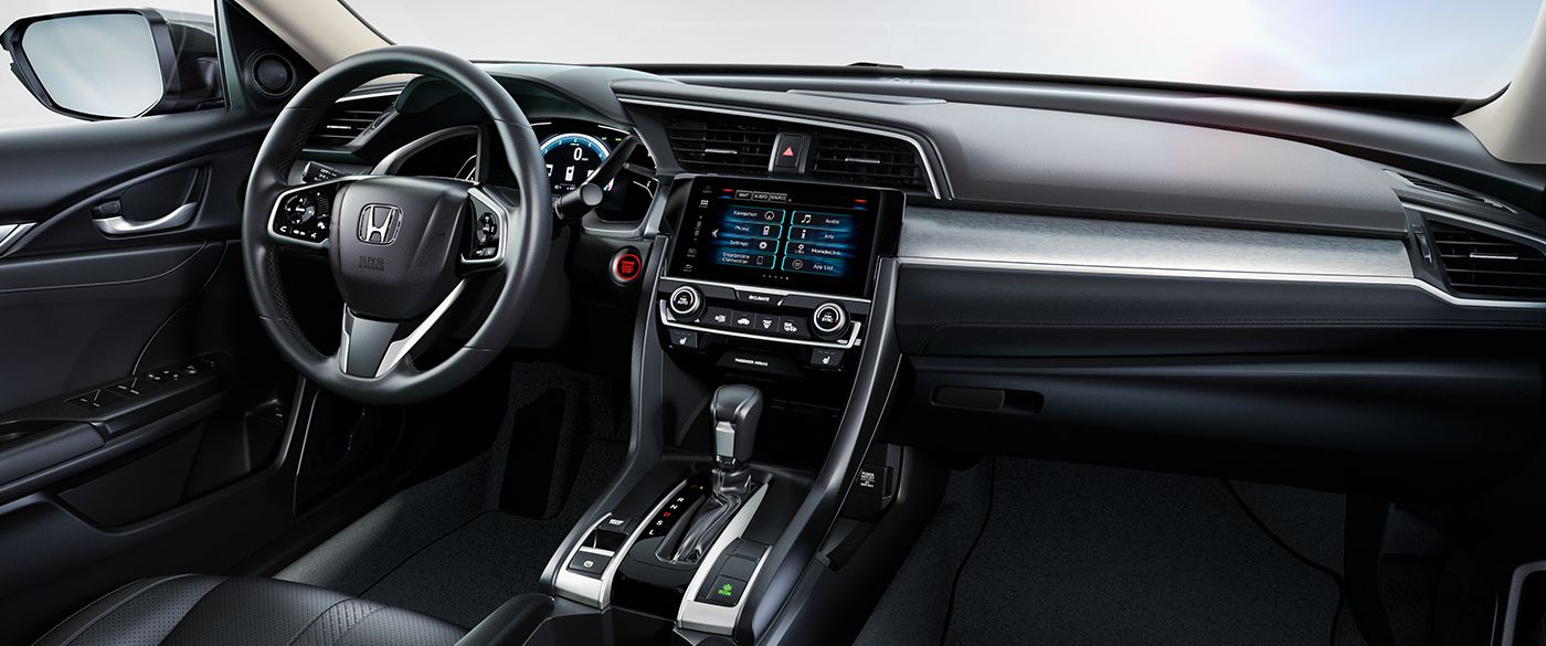 2018 Honda Civic Sedan Front Interior Dashboard