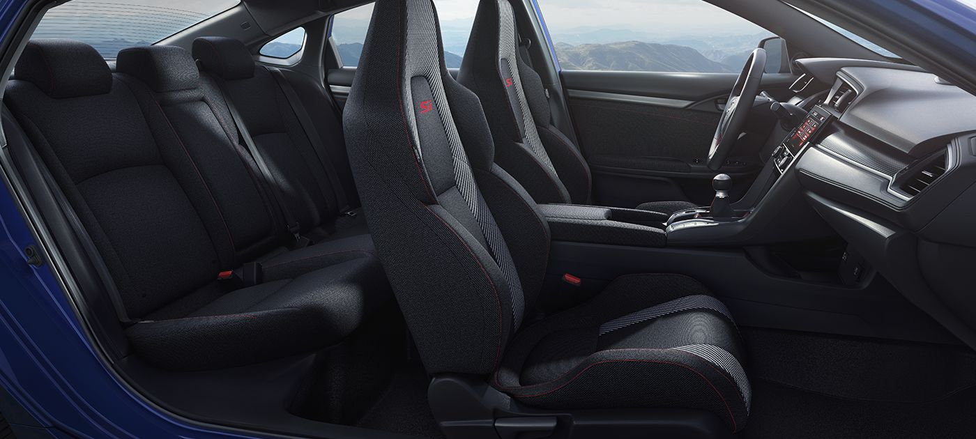 2018 Honda Civic Si Black Interior Steering Wheel And Dashboard Photo Gallery
