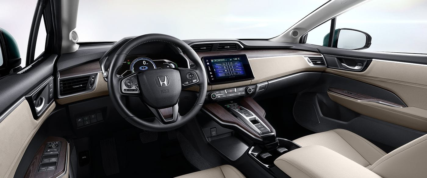 2018 Honda Clarity Plug In Hybrid Touring Front Interior