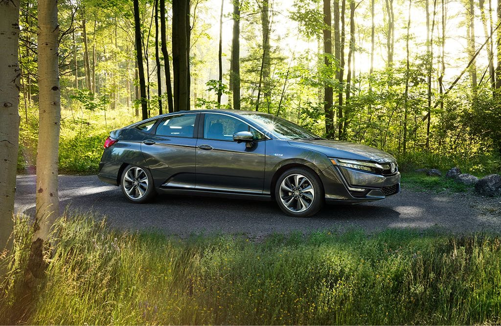 2018 Honda Clarity Plug-In Hybrid Gray Exterior Side