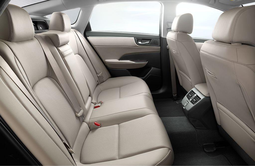 2018 Honda Clarity Plug In Hybrid Rear Interior Seating