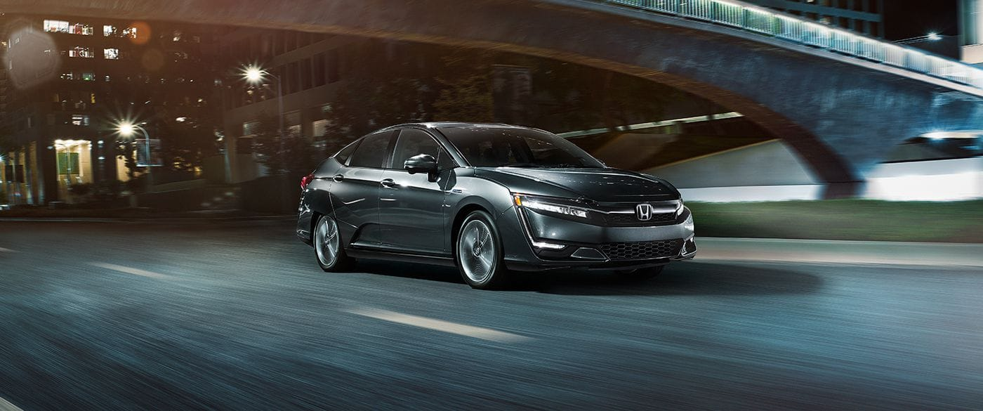 2018 Honda Clarity Plug-In Touring Gray Exterior Front