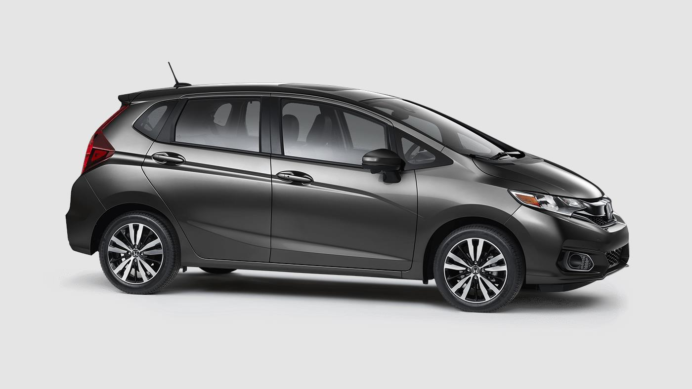 2018 Honda Fit EX Modern Steel Exterior Side View