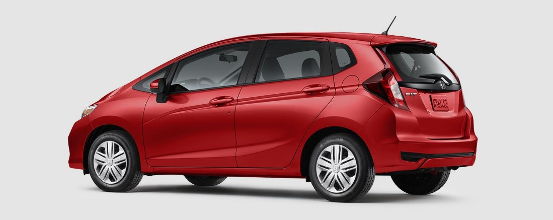 2018 Honda Fit Milano Red Rear Exterior