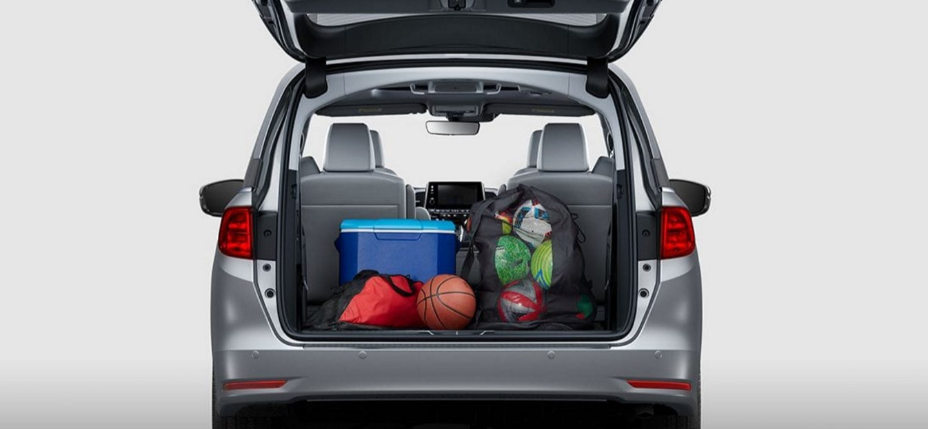 2018 Honda Odyssey Elite Rear Storage Interior Cargo