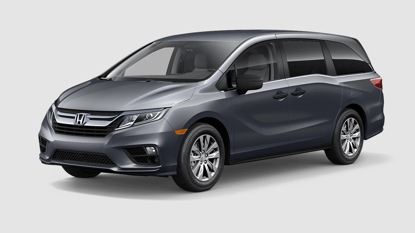 2018 Honda Odyssey LX Modern Steel Exterior Side View