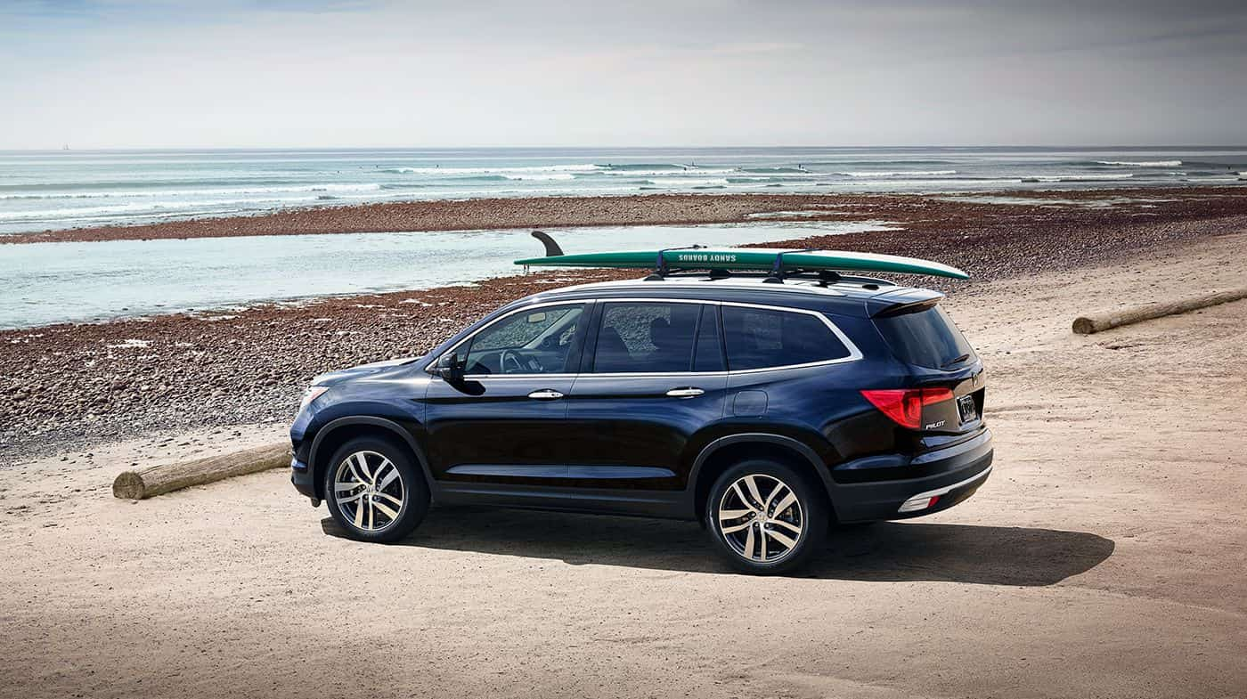 2018 Honda Pilot Black Exterior Side View