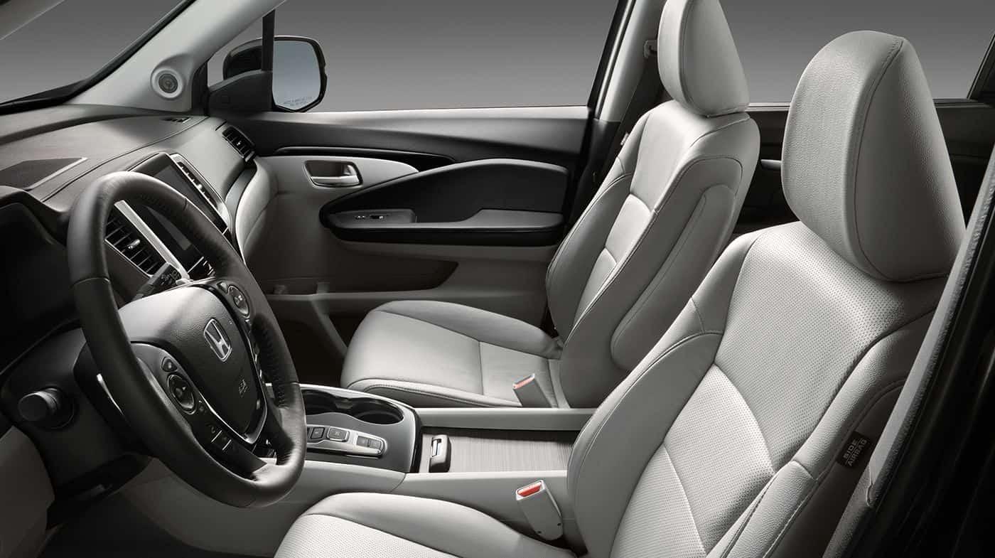 2018 Honda Pilot Front Interior Seating And Dash