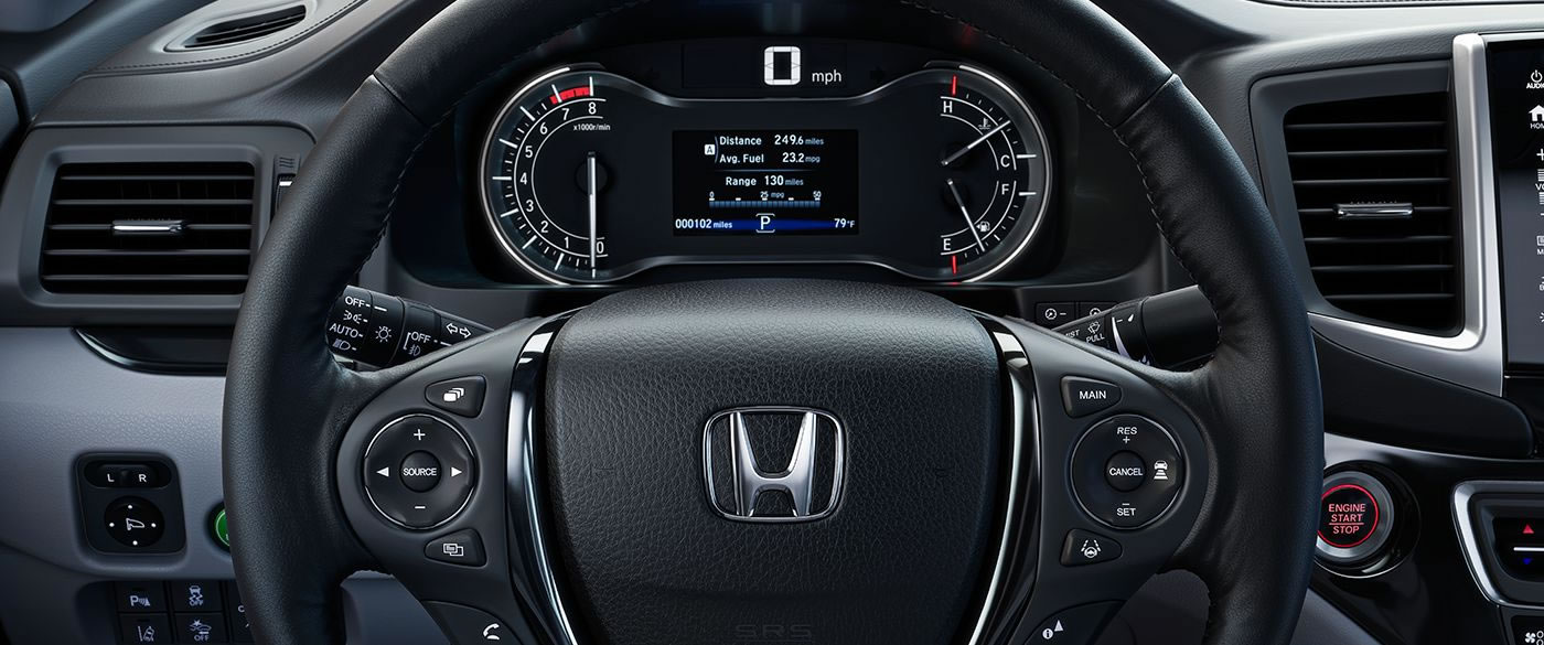 2018 Honda Ridgeline Seating Interior