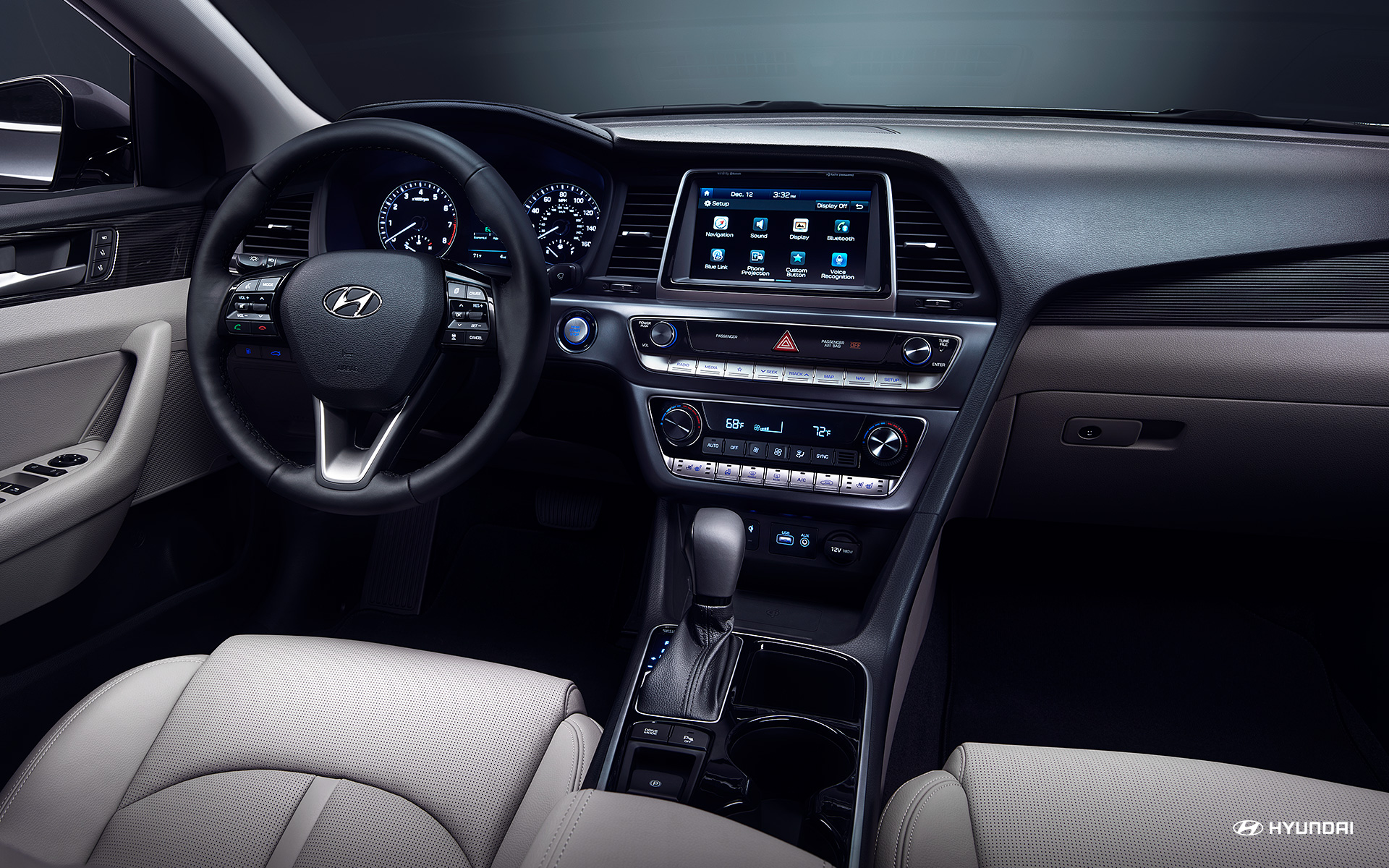 2018 Hyundai Sonata Dashboard Interior