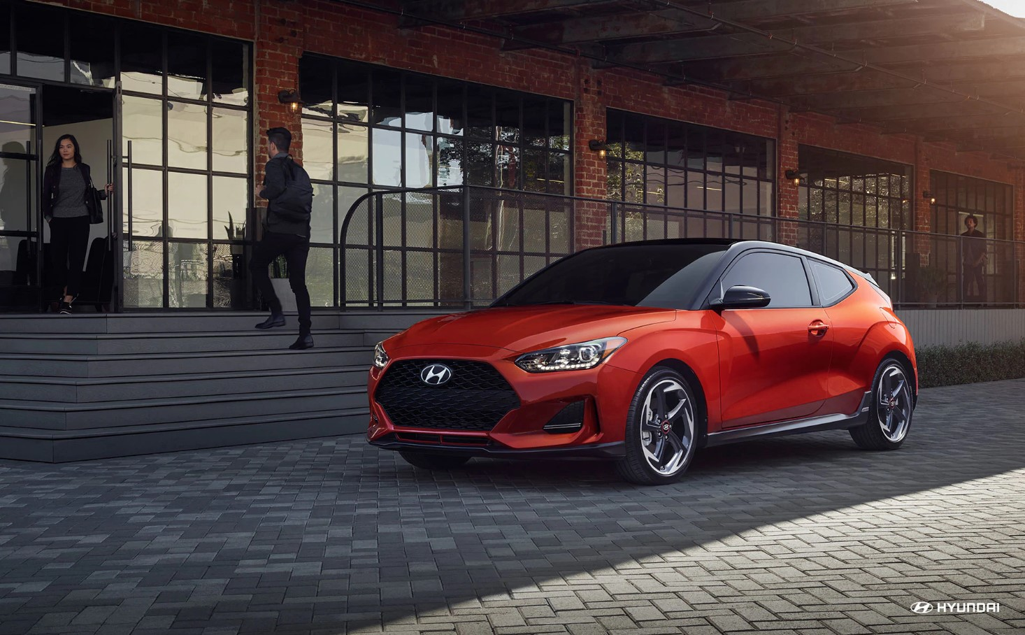 2018 Hyundai Veloster Red Front Exterior Picture