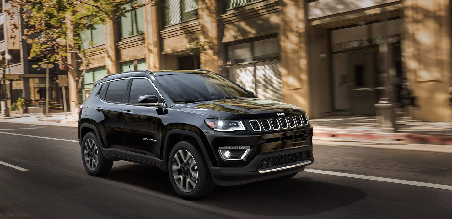 2018 Jeep Compass Front Black Exterior