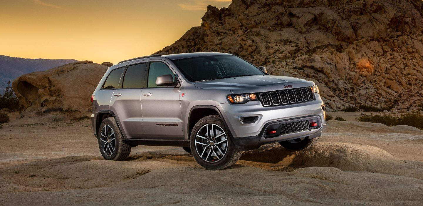 2018 Jeep Cherokee Laredo Silver Exterior Front and Side View