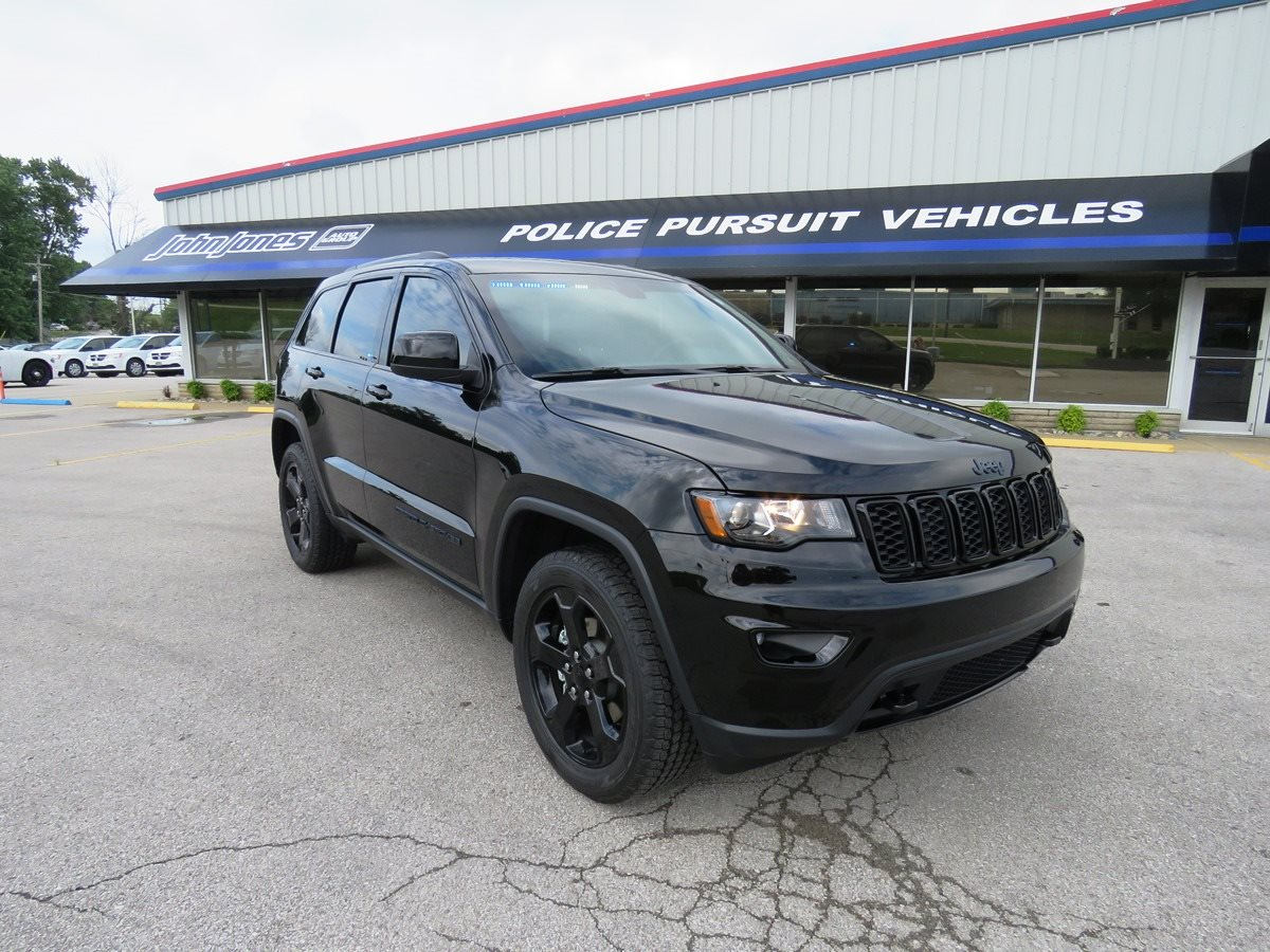 Jeep Dealership Louisville Ky >> 2018 Jeep Grand Cherokee with Police Upfit | John Jones Police Pursuit Vehicles | Salem, IN