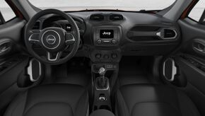 2018 Jeep Renegade Sport Front Interior Detail