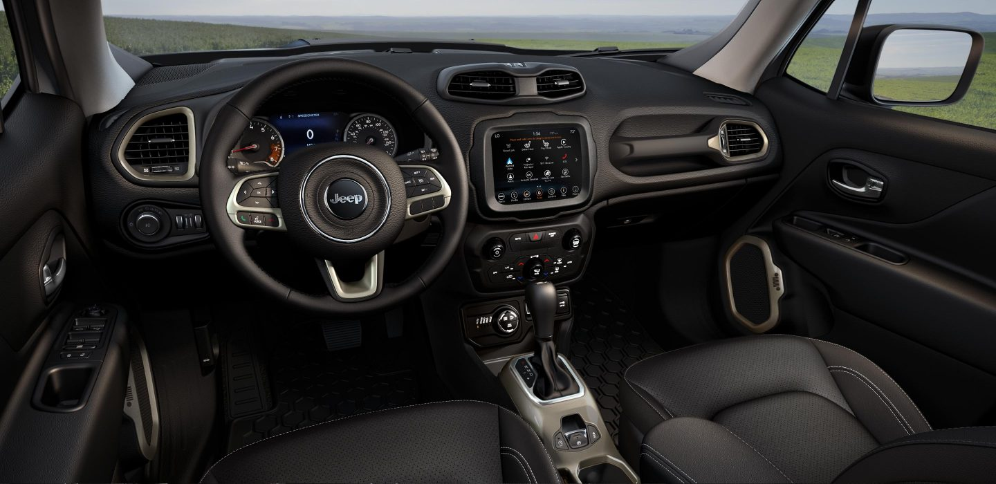 2018 Jeep Renegade Black Interior