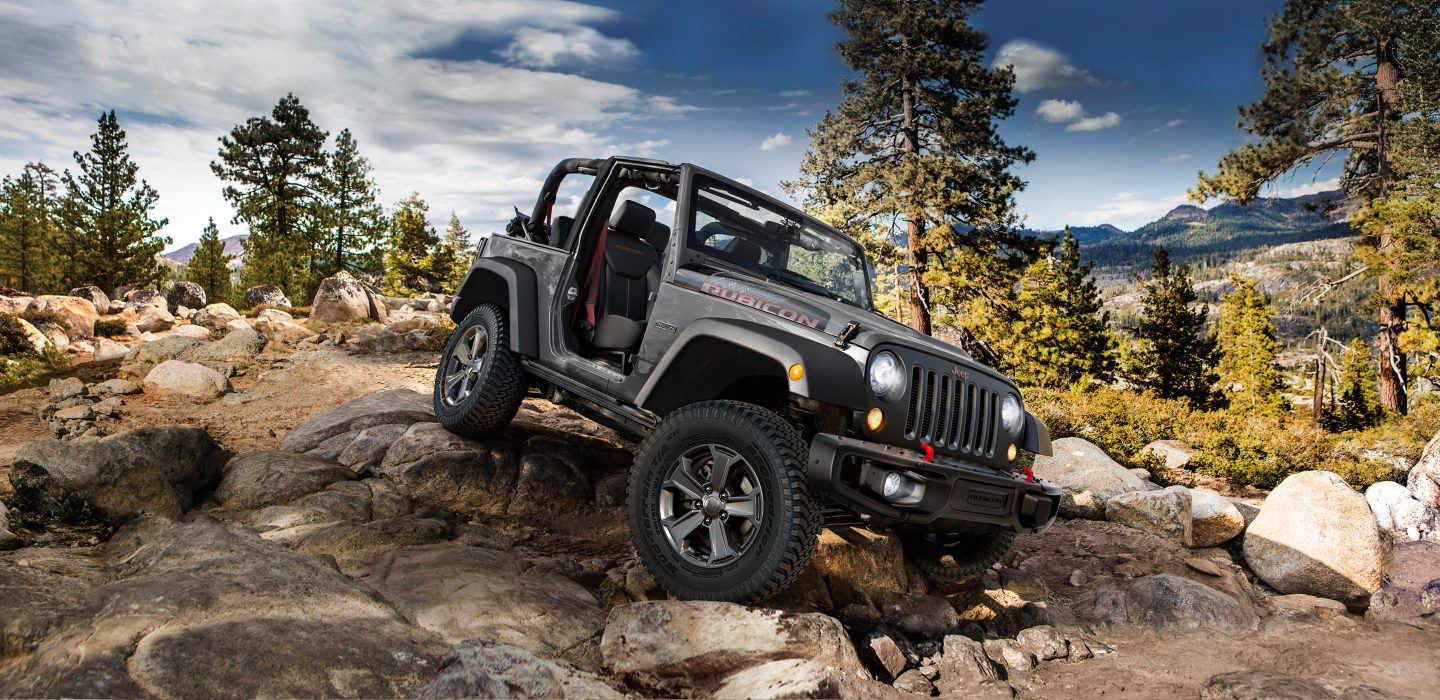 2018 Jeep Wrangler JK Gray Exterior Side View Off-Road