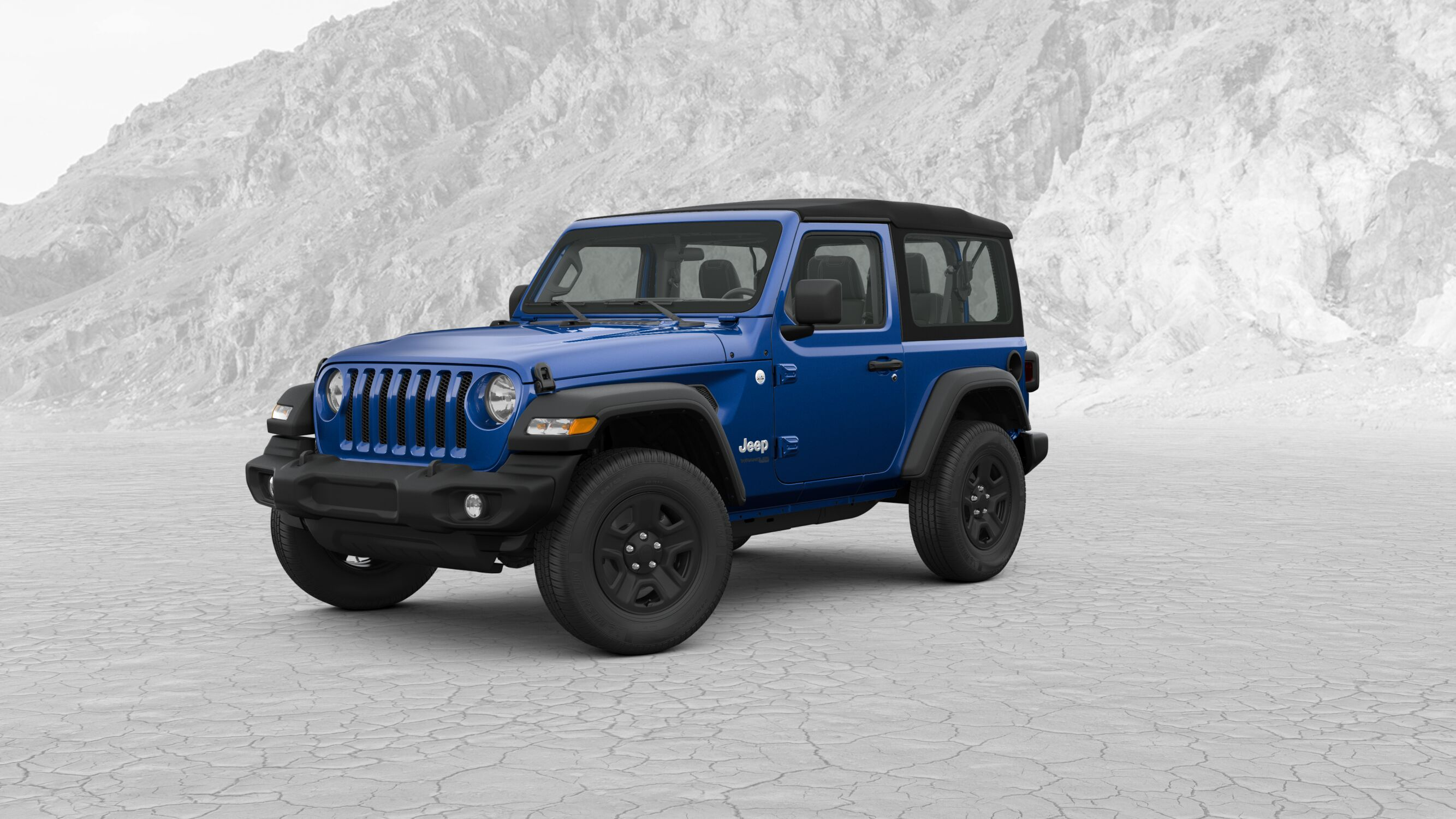 2018 Jeep Wrangler Sport Rocky Top Chrysler Dodge Kodak Tn Exploded View Blue Exterior Front Picture