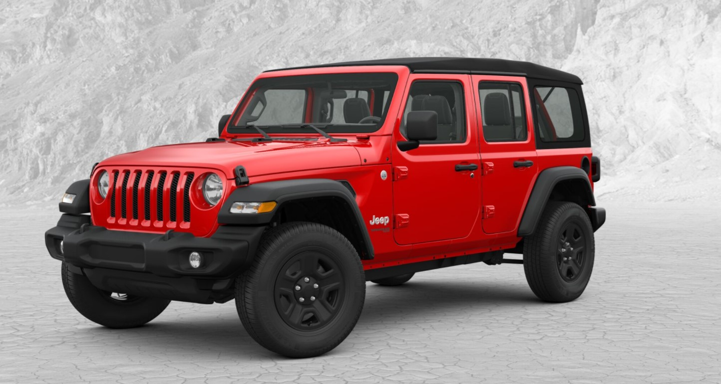 2018 Jeep Wrangler Unlimited Sport Ron Carter Chrysler