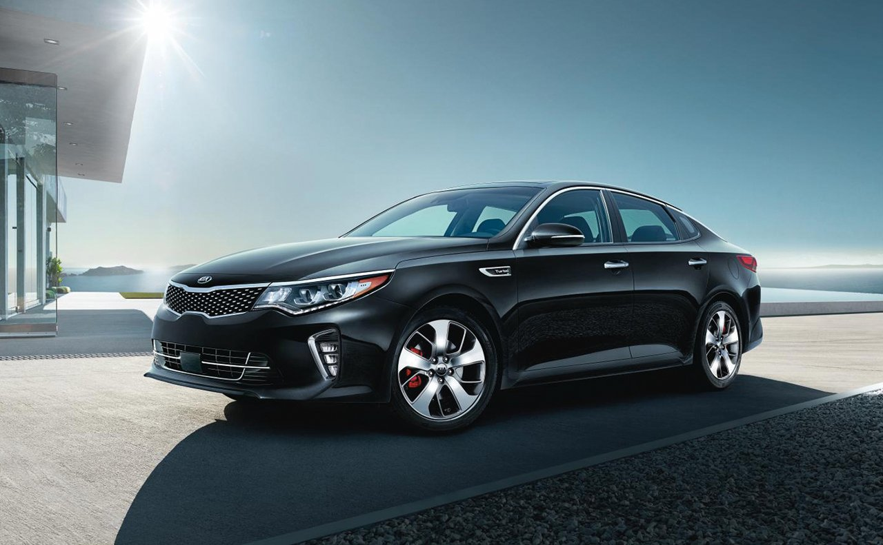 2018 Kia Optima Black Front Exterior