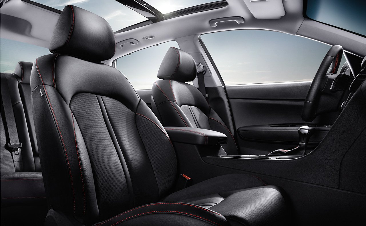 2018 Kia Optima Seating Interior