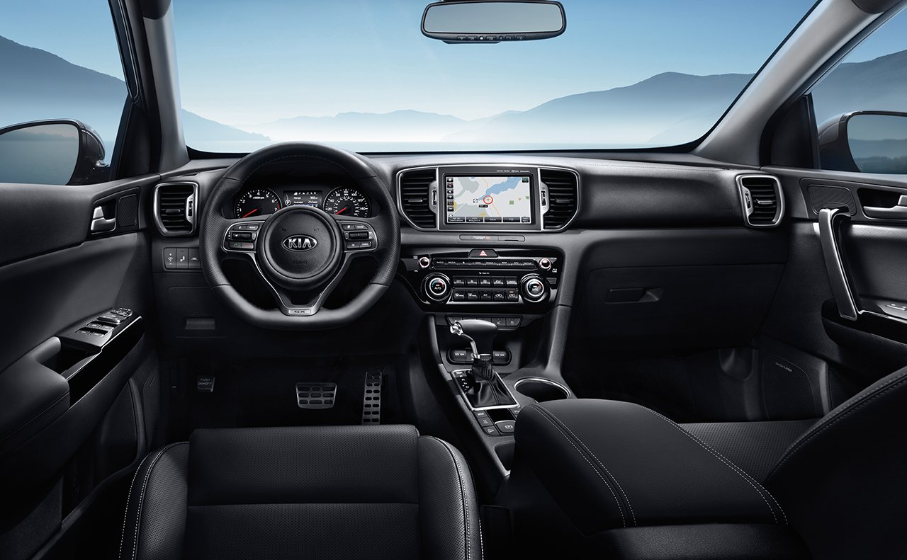 2018 Kia Sportage Seating Interior