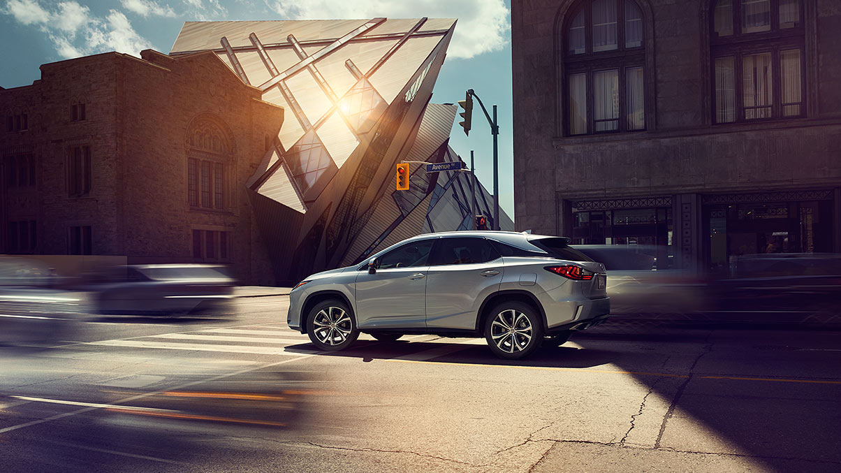 2018 Lexus RX Silver Exterior Side View