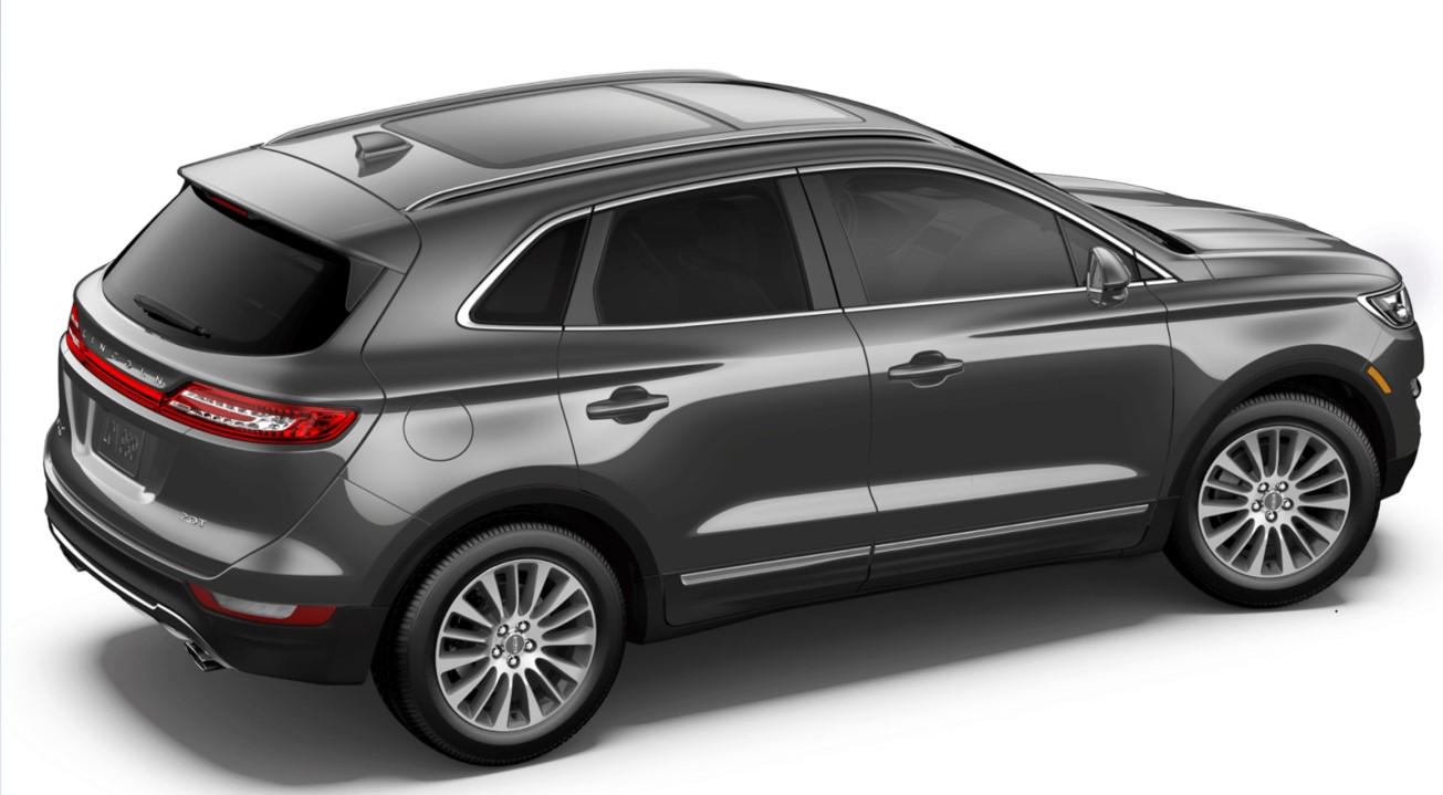 2018 Lincoln MKC Reserve Gray Exterior Side Picture