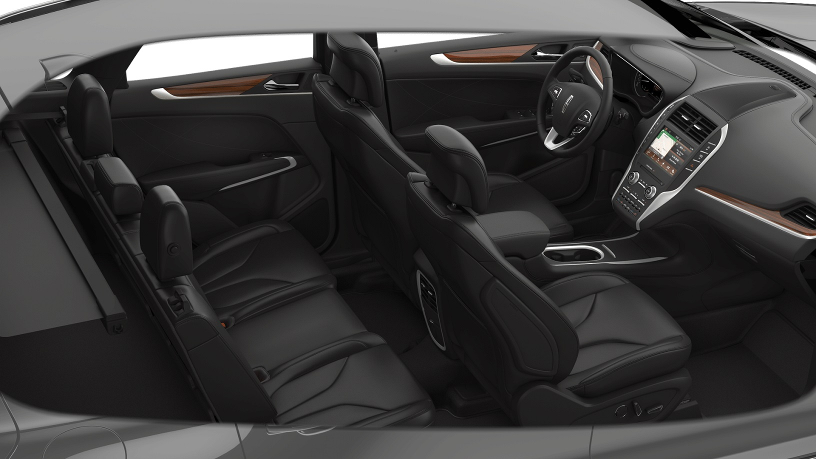 2018 Lincoln MKC Reserve Interior Seating Picture