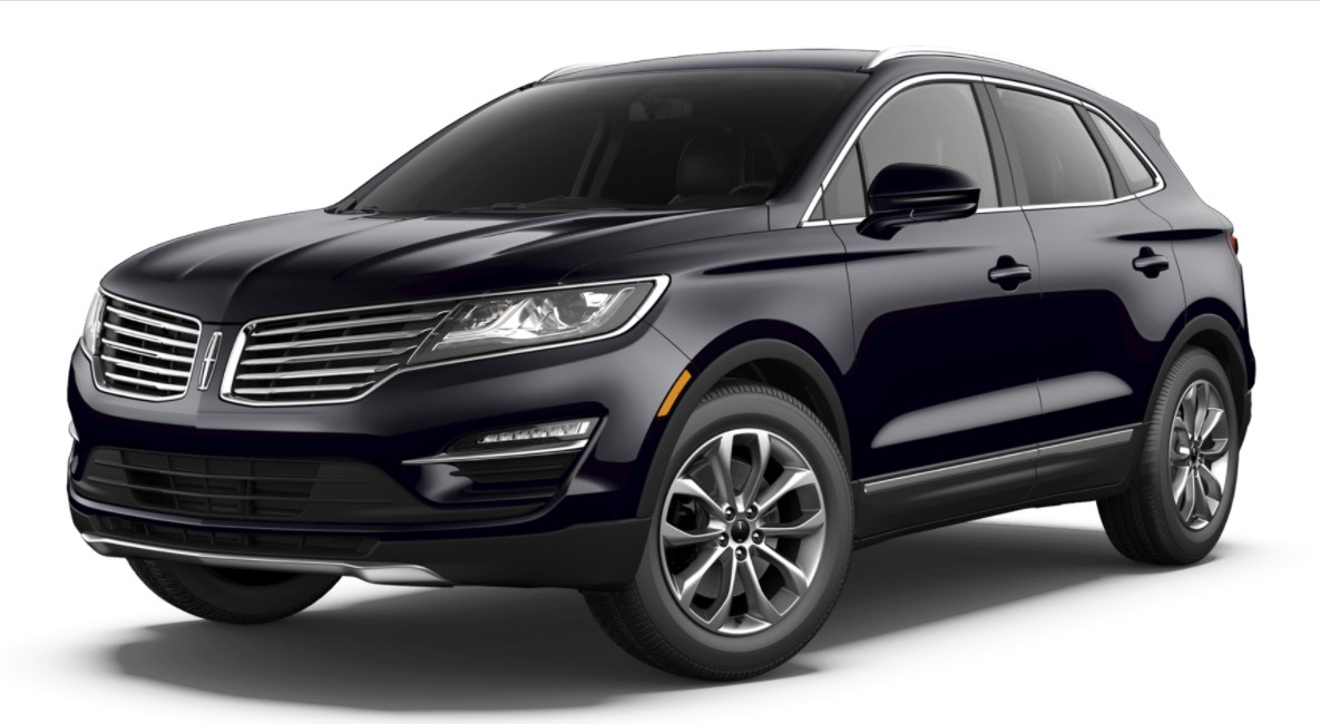 2018 Lincoln MKC Select Black Exterior Front View