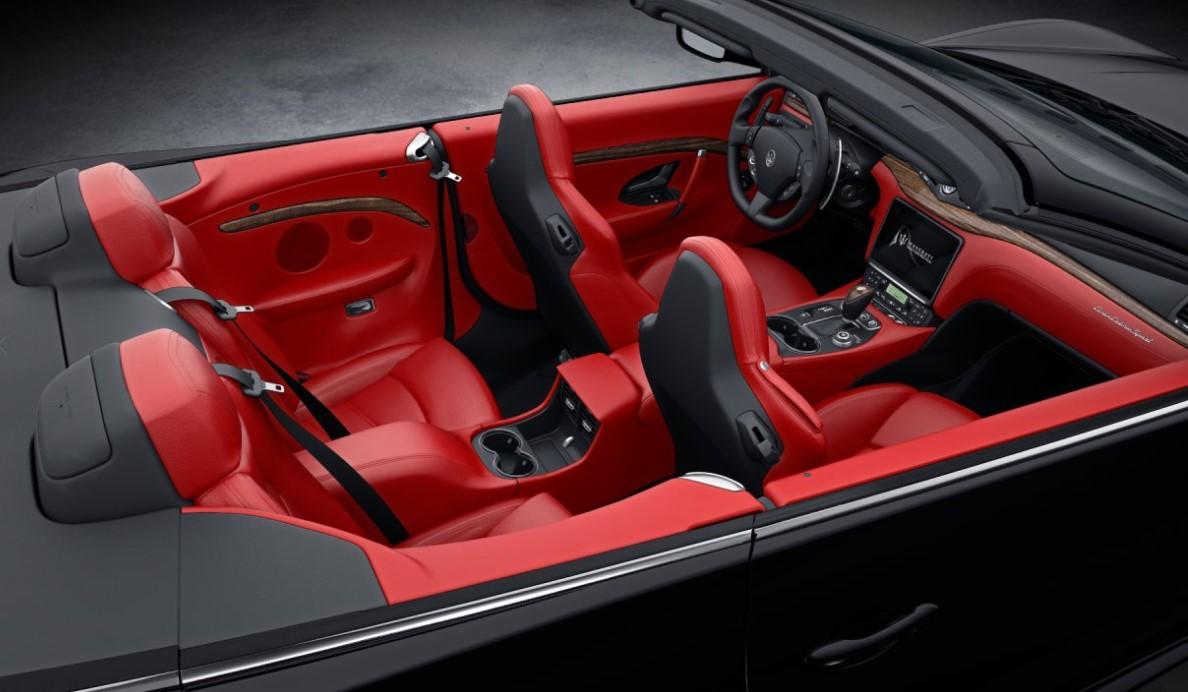 2018 maserati granturismo convertible maserati of ontario - Maserati granturismo red interior ...