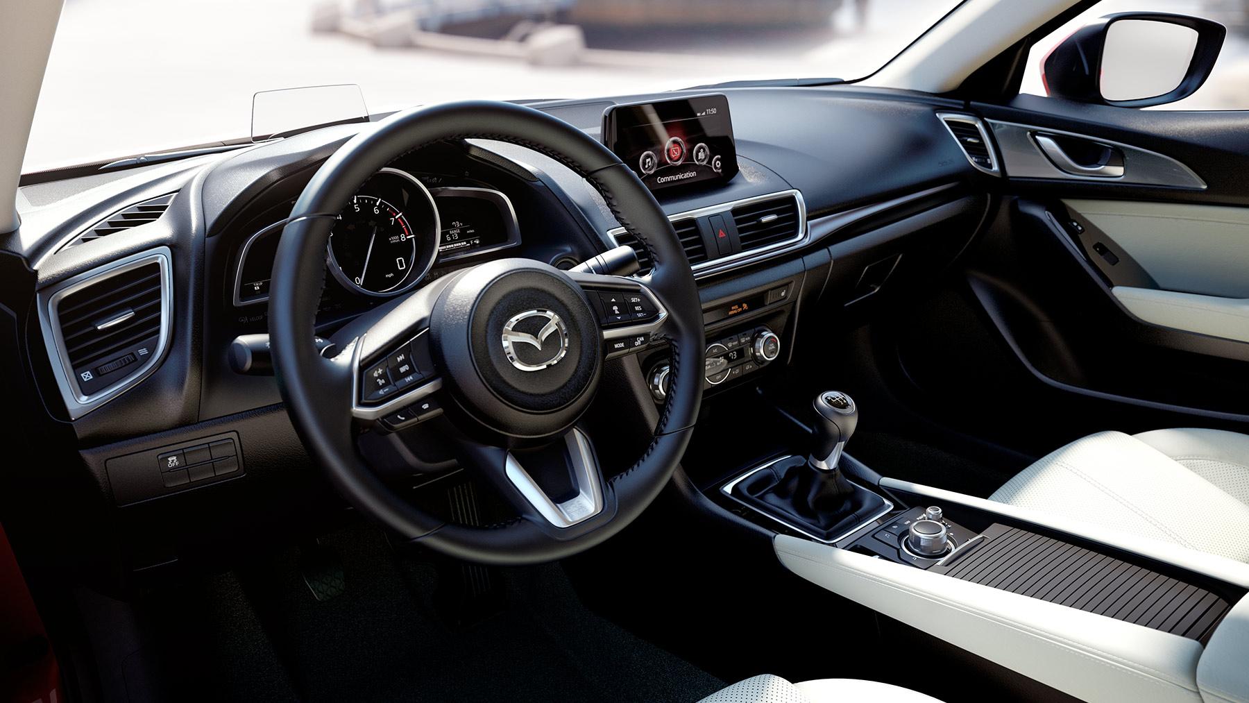 2018 Mazda3 4-door Dashboard Interior